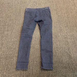 Levi's faded black/gray jeans
